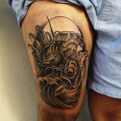 sailor jerry hammerhead shark  scenario for any saltwa...