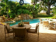 Stunning Back Yard Swimming Pools