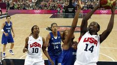 The United States cruised to the women's basketball Olympic gold medal as they swept France aside 86-50 in the final at the North Greenwich Arena.