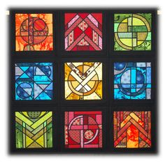 Coloured Windows by Sheilagh Webb, 2013 Festival of Quilts (UK)