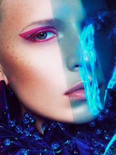 TRUE COLORS by Yulia Gorbachenko, via Behance