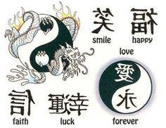 Letras de Tatuajes Chinas y Japonesas (Orientales) | http://www.fotosdetatuajes.com.ar/2013/03/letras-para-tattoo-chinas-y-japonesas-orientales.html
