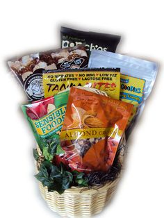 Gluten Free Father's Day gift basket for man