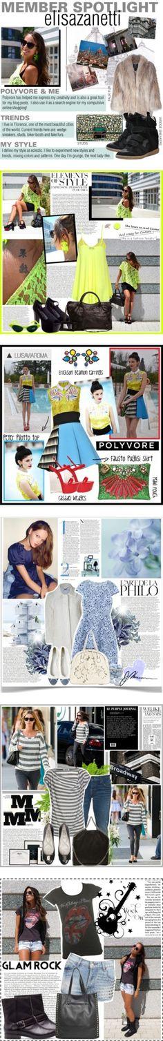 """Member Spotlight: Elisazanetti"" by polyvore ❤ liked on Polyvore"