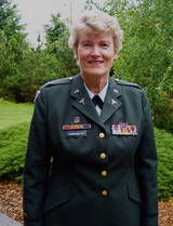 """Colonel Margarethe Cammermeyer  Margarethe Cammermeyer is the highest ranking military official to come out while in the service. Prior to """"Don't Ask, Don't Tell"""" she challenged the military policy banning gays and won the right to serve."""