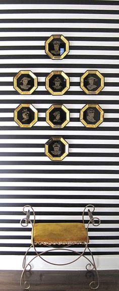 black stripe & gold