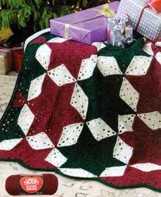 Christmas Star Afghan LW1894