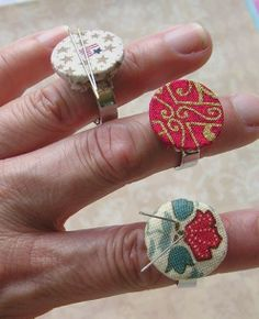 Adjustable Ring Crafts, they are fun to do and easy. I have a tutorial on my web site and blog. Please come and see.