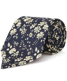 Navy Capel Liberty Print Tie, Liberty London. Shop the latest men's ties from the Liberty London collection online at Liberty.co.uk