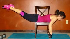 Melissa Bender Fitness: 30 Day Challenge: Day 19: Thigh Thinner Workout. Workout for the thighs, glutes, and legs.