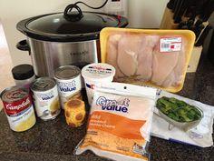 Crock-Pot Cheesy Chicken & Broccoli Over Rice Recipe