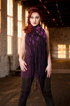 Dharma Trading Co. Featured Artist: Shannah Warwick- nuno felted garments