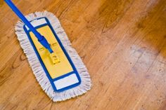 Cleaning tips for wood floors.