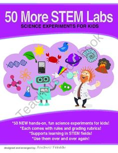 STEM science experiments labs book volume 2 - just released!! Enter for your chance to win 1 of 10.  STEM Science Physics Lab Mega collection volume #2 WITH 50 ALL NEW labs! (64 pages) from Velerion Damarke on TeachersNotebook.com (Ends on on 10-30-2014)  10 lucky winners get my newest stem labs book. These are not available yet in any of my collections or pack files. You can only get them here! This, along with the other volume, pushes the collection up to 100 total science labs!