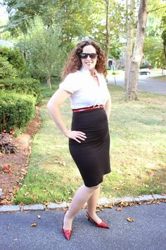 Clio & Phineas: Project Bump Basics: Megan Nielsen Ruched Maternity Skirt