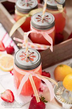 Homemade Sweet Strawberry Lemonade Recipe