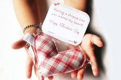 Valentine rice bag