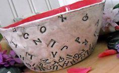 bowl, letter, number, alphabet soup