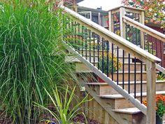 Really like the railing and wood.
