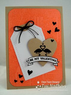Stampin-Time: Be My Valentine - A Freshly Made Sketch