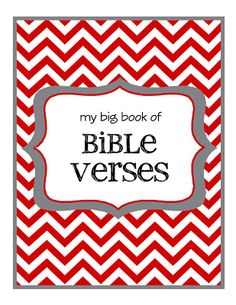 {my big book of Bible verses}... links to Bible verses w/ pictures