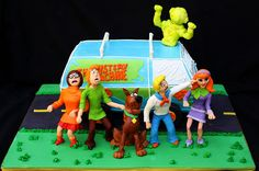 scoobydoo3, awesome cakes for kids, scoobi cake, scoobydoo cake