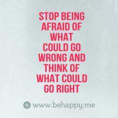 I need to take this advise.