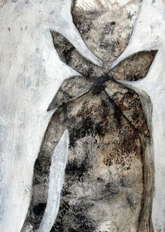 "Scott Bergey; Mixed Media, 2012, Painting ""Man With A Fancy Tie"""