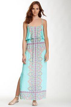 Printed Maxi Dress by Renee C on @HauteLook