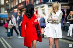 Nicole Warne   Jessica Stein | London @ http://le-21eme.com