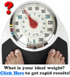 Fastest way to lose weight. What is your ideal weight?