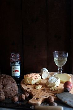 .wine and cheese