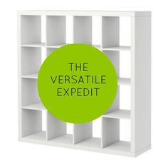 The Versatile Expedit - the many uses of IKEA's Expedit