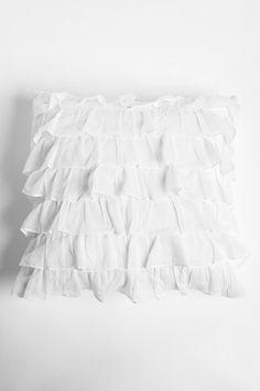Waterfall Ruffle Pillow