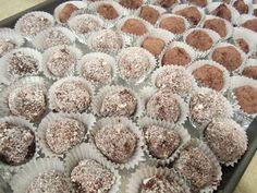 The Full Plate Blog: dark chocolate truffles
