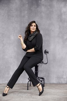 Lena Smart Stretch Straight Leg Pant. Designed for maximum comfort and a curve-hugging fit. #LaneBryant