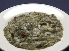 Creamed Spinach Recipe : Robert Irvine : Food Network - FoodNetwork.com