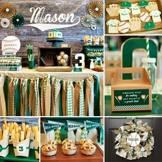 Home run by Tara of One Stylish Party on her Vintage Baseball Party (with buralp & houndstooth) to celebrate her little slugger's 3rd birthday! ‪#‎Vintage‬ ‪#‎Baseball‬ http://hwtm.me/113FAcV