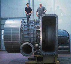 (ABB turbocharger TPL 91, world's most powerful turbocharger)