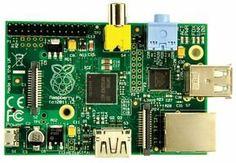 Raspberry Pi Model B..