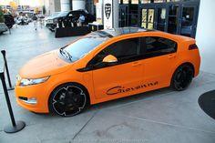 What if someone put Giovanna wheels on a Chevrolet #Volt ? #SEMA 2012