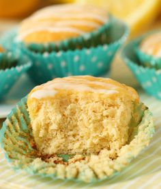 Grain- / Gluten-free Lemon Muffins