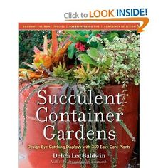 I'm falling in love with succulents more and more, such wonderful easy care plants! #gardening #book #reading #plants #succulents
