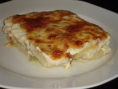 Politiko Briam. This recipe is called 'Politiko' Briam from the name 'Poli' which is what Greeks call Constantinopolis, and 'Politiko' recipes are from the Greeks who used to live there. The basic difference between this and ordinary Briam is the addition of Bechamel sauce on top.