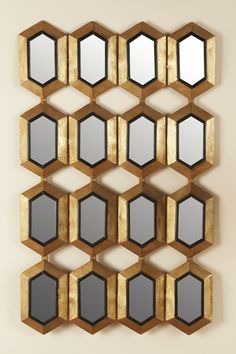 Love this grid of small wall mirrors.  #fifthwallfriday #ceilume #ceiling #interior #design #diy #hometheater