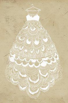 a print a day: Fancy Dress