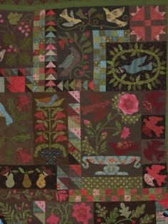 Jina's World Of Quilting. Blackbird Designs -- Birds of a Feather