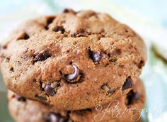 Espresso chocolate chip cookies. Gluten-free for grown-ups.