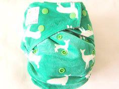 Kawaii Diapers - Bamboo Minky: Mom Label
