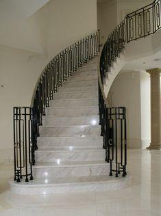marble floors!